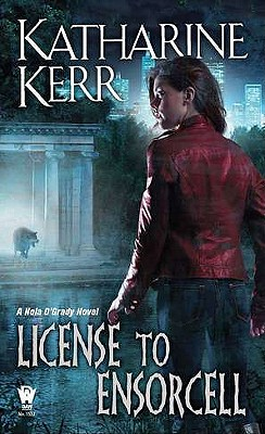 License to Ensorcell By Kerr, Katharine